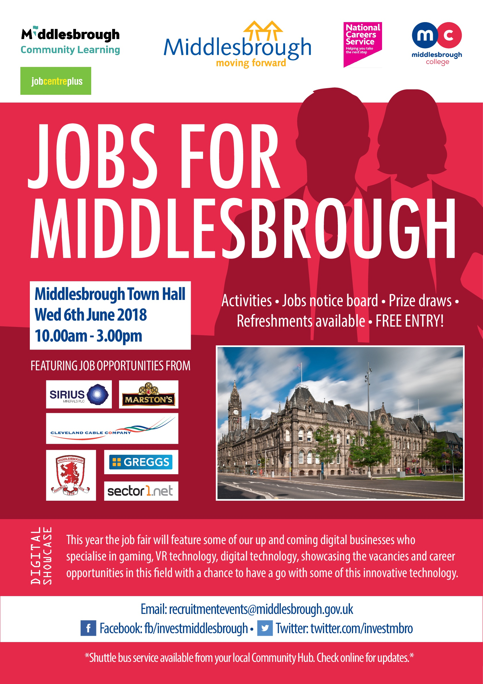 Middlesbrough Jobs Fair