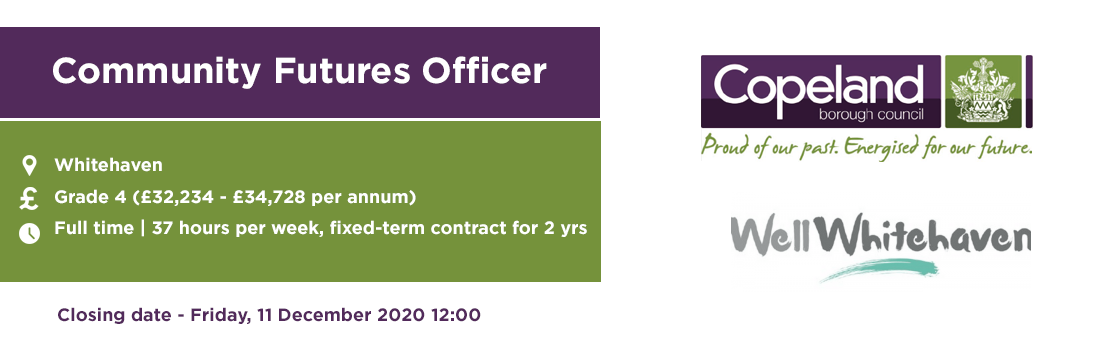 Copeland Brough Council - Community Futures Officer